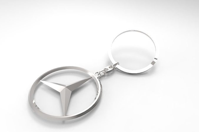 Mercedes Key Ring