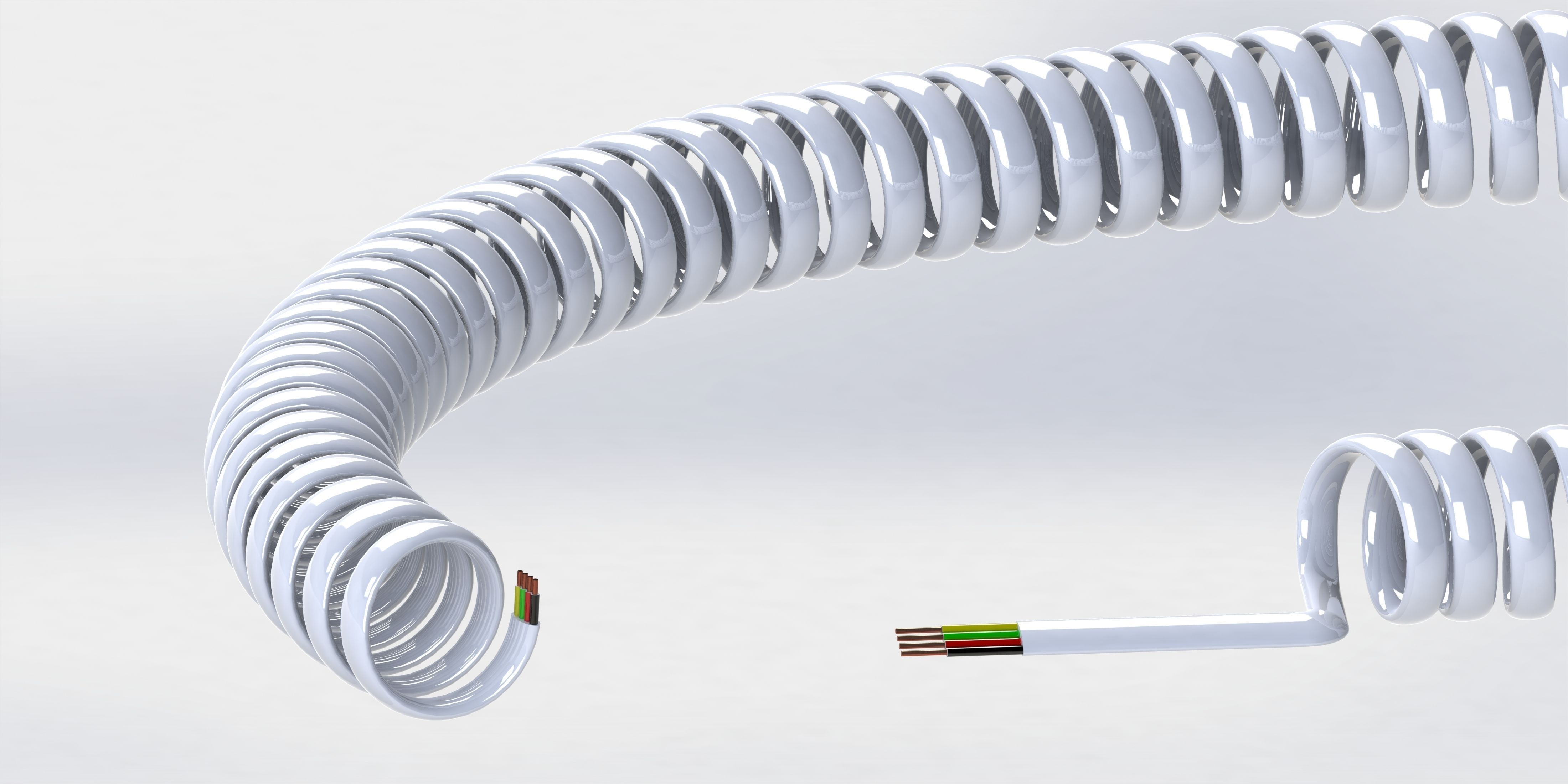 3D Telephone Wire | CGTrader