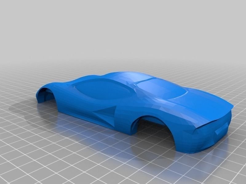 Pinewood derby car shell free 3d model 3d printable stl 3d printer models free