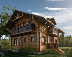 House Chalet 3D