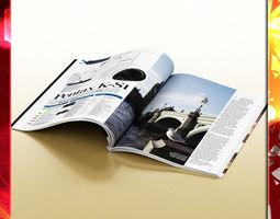 magazine 01 3d model max obj 3ds fbx