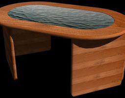 3D coffee table acacia