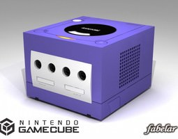 Nintendo Gabecube 3D model