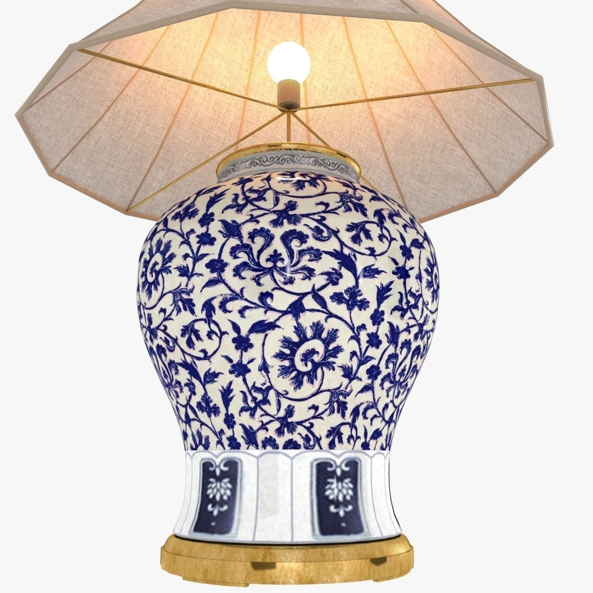 Ralph lauren marlena large table lamp in blue and white 3d model ralph lauren marlena large table lamp in blue and white 3d model max obj 3ds fbx mozeypictures Images