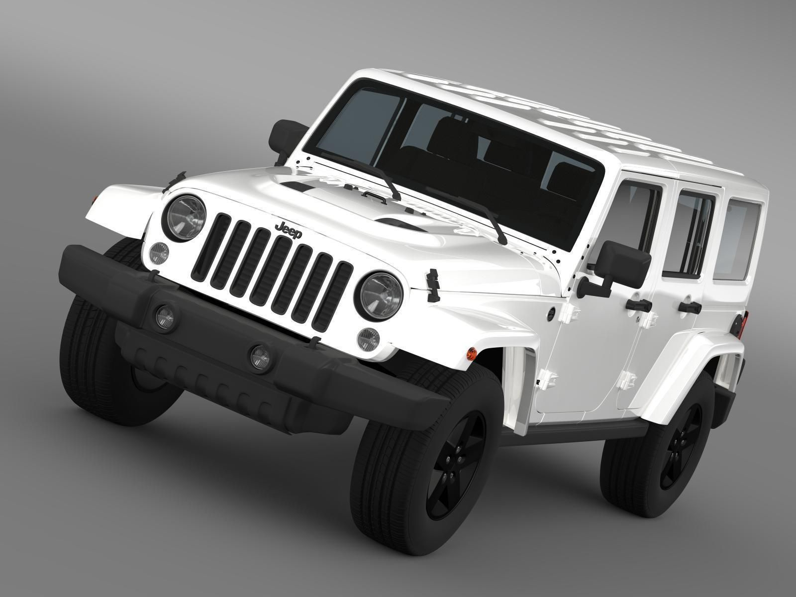 3d jeep wrangler unlimited x 2015