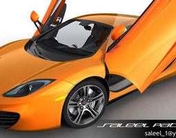 3D McLaren MP4-12C