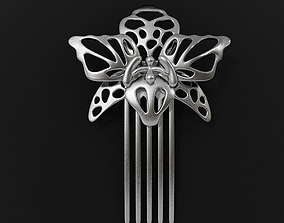 Orchid Hairpin 3D printable model