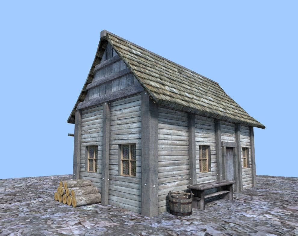 3d Model Houses Collada