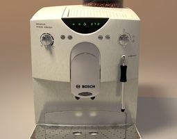 kitchenware 3D model coffeemaker bosch