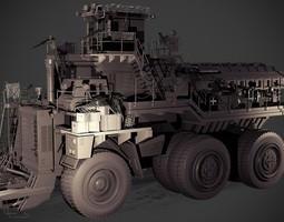3d model slave hauler