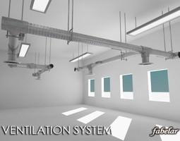 Ventilation system 3D Model