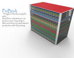 PinBrick 3D print model