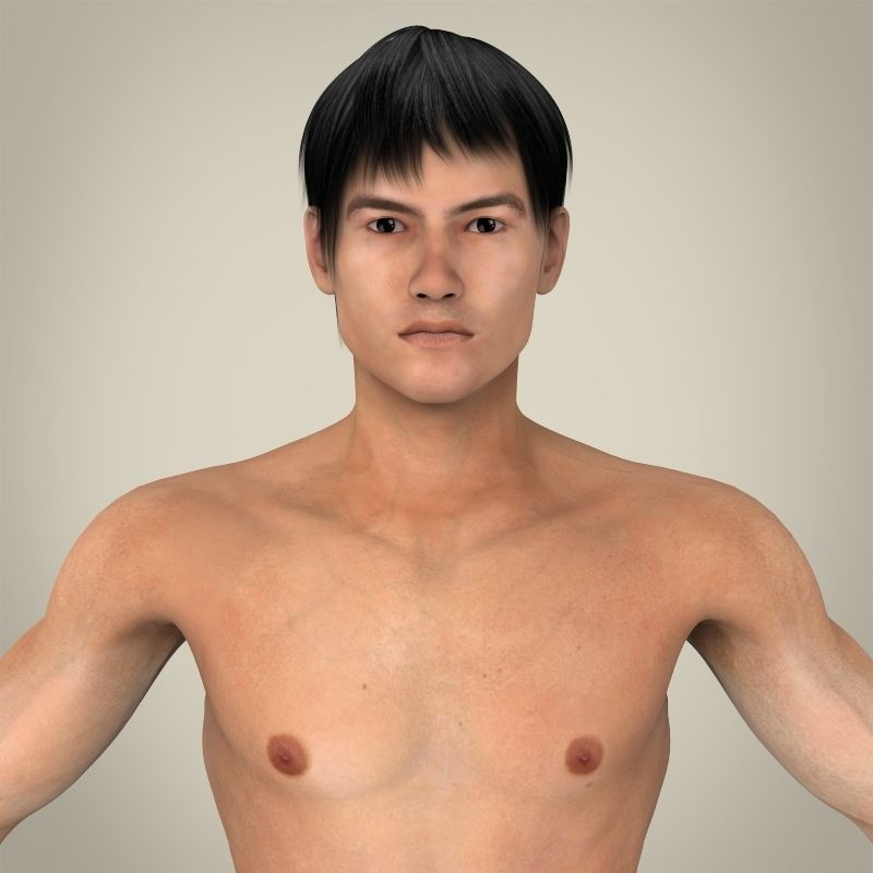 Asian male underwear modelstures — 6
