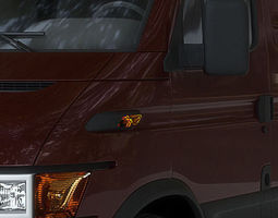 UPS Delivery Van 3D Model
