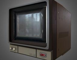 3D asset CCTV Monitor