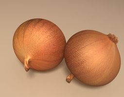 vegetable Onion 3D model