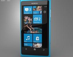 3D asset Nokia Lumia 800