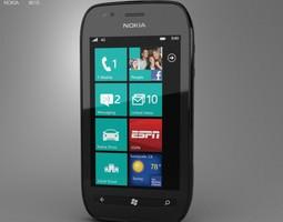 Nokia Lumia 710 3D asset