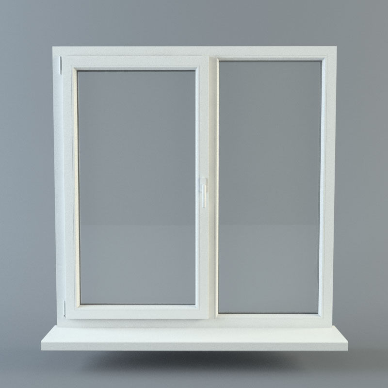 Window 3d model obj fbx ma mb for Window 3d model