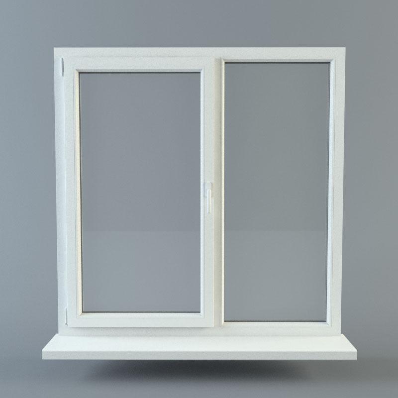 Window 3d model obj fbx ma mb for Window 3d model