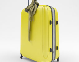 Yellow case 3D model