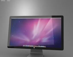 Apple Thunderbolt Display 27 2012 3D asset