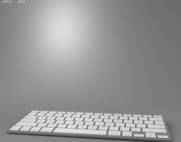 Apple Wireless Keyboard 3D asset