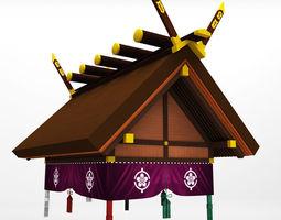 3D Sumo roof arena sport