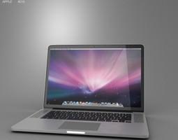 apple macbook pro with retina display 15 inch display 3d model max obj 3ds fbx c4d lwo lw lws