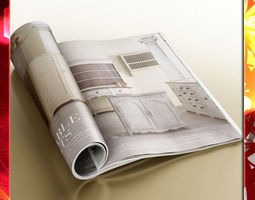 magazine 02 3d model max obj 3ds fbx