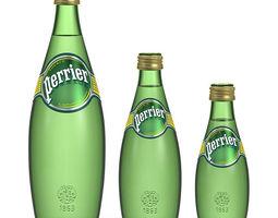 3D model Perrier water