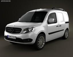 Mercedes-Benz Citan Delivery Van 2012 3D