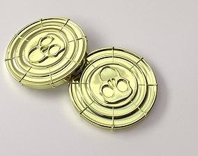 3D Pirate Coin