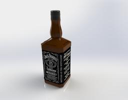 Jack Daniels Whisky 3D model