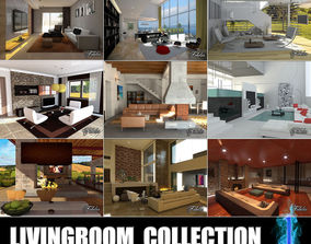 Livingrooms Collection 1 3D