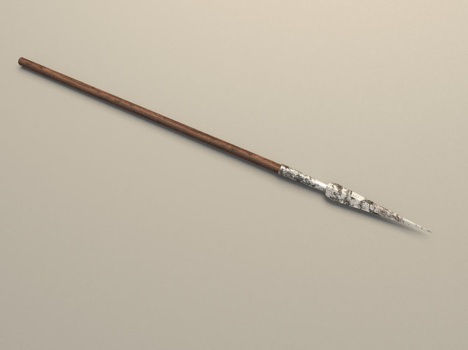 3D medieval spear | CGTrader