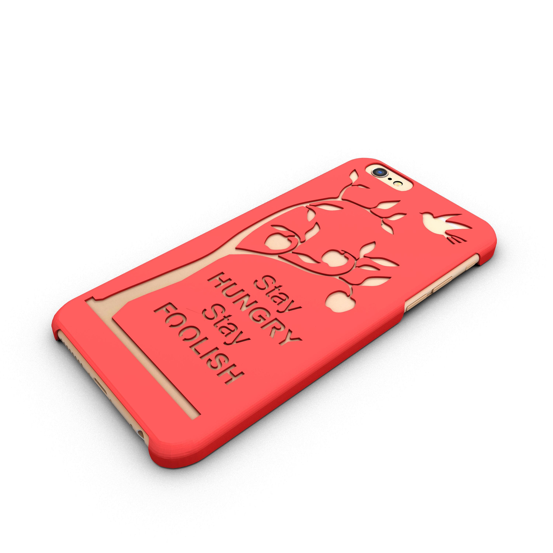 Iphone 6 Case Steve Jobs Quote 3D Model 3D Printable STL