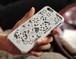 Flora Iphone 6 Case 3D printable model