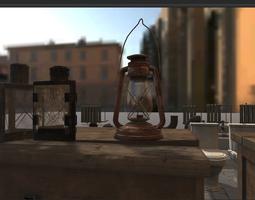 Urban Interior Props Pack 3D model