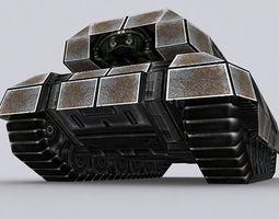 Sci-Fi Tank T-04 3D