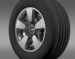 3D model Chevrolet Suburban DE wheel