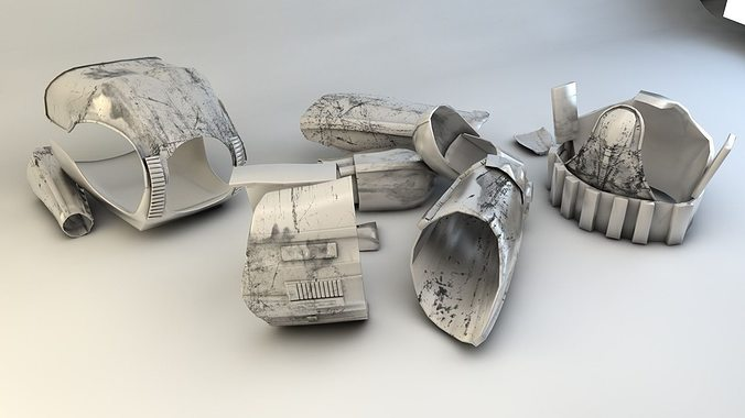 stormtrooper outfit  3d model obj 3ds c4d 1