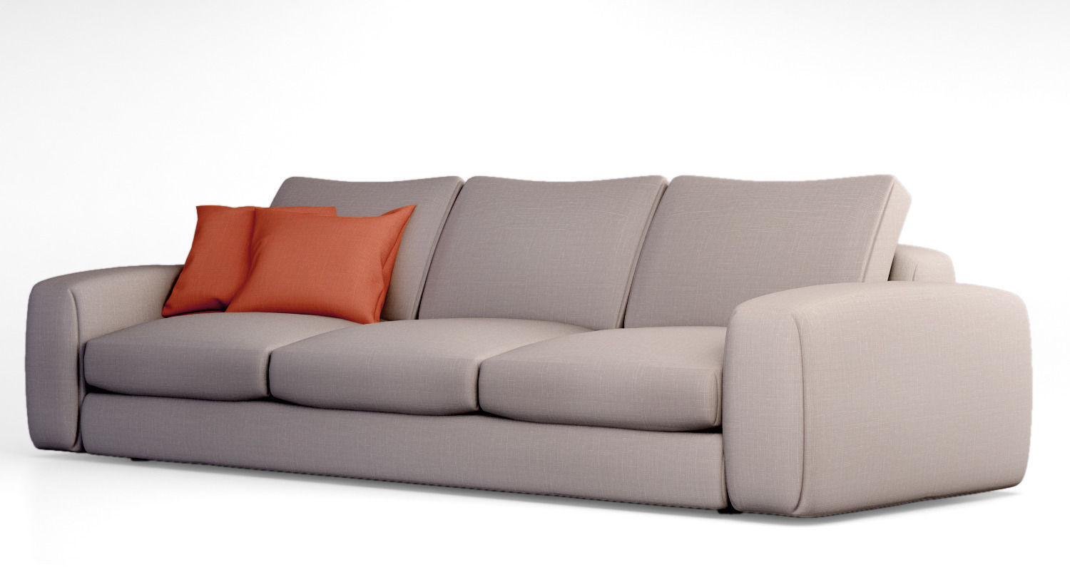 Jardan hudson sofa 3d model max obj for Sofa hudson
