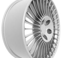 Wheel Rim tyre 3d