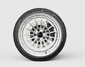 Enkei RS05RR automotive -RIM ONLY- 3D