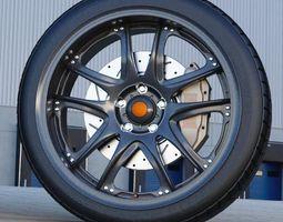 Volk GT V automotive -RIM ONLY- 3D model