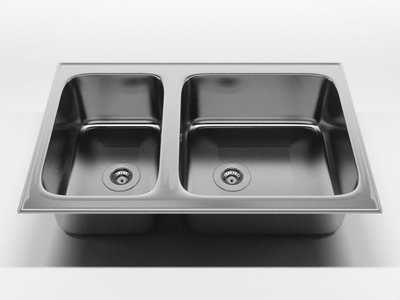 kitchen sink 2 3d model c4d 1 - Kitchen Sink Models