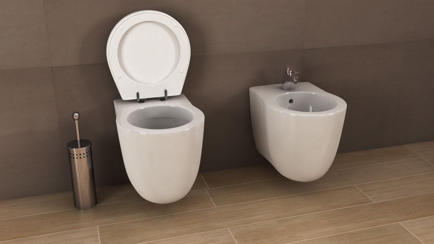 Ideal Standard Toilet : Ideal standard small plus toilet d cgtrader