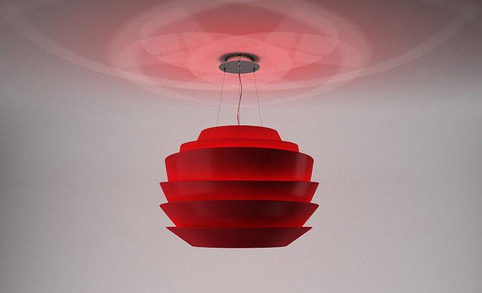 3D Foscarini Le Soleil suspension | CGTrader
