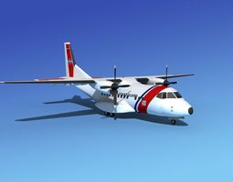 Casa CN-235 US Coast Guard 3D